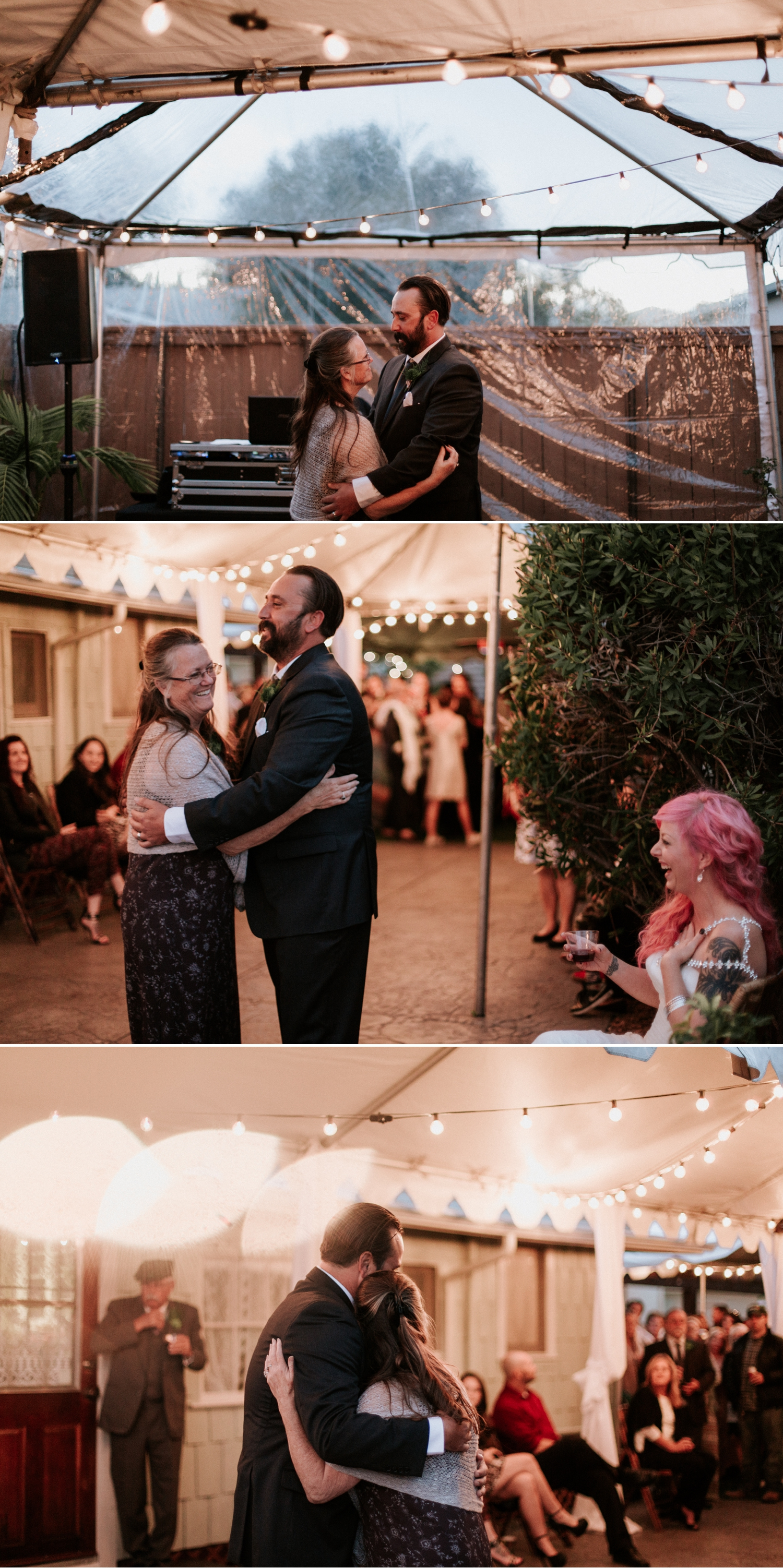 Backyard wedding in San Diego by Paige Nelson