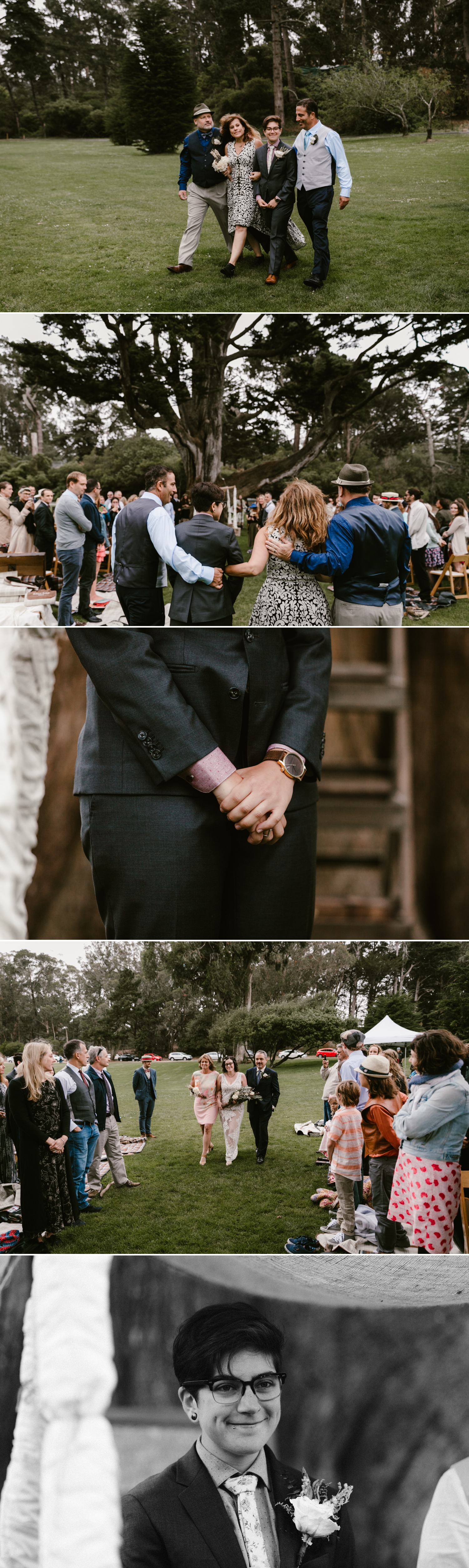 Hellman Hollow lesbian wedding San Francisco by Paige Nelson