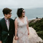 Intimate Same sex wedding at Sutro Baths by Paige Nelson