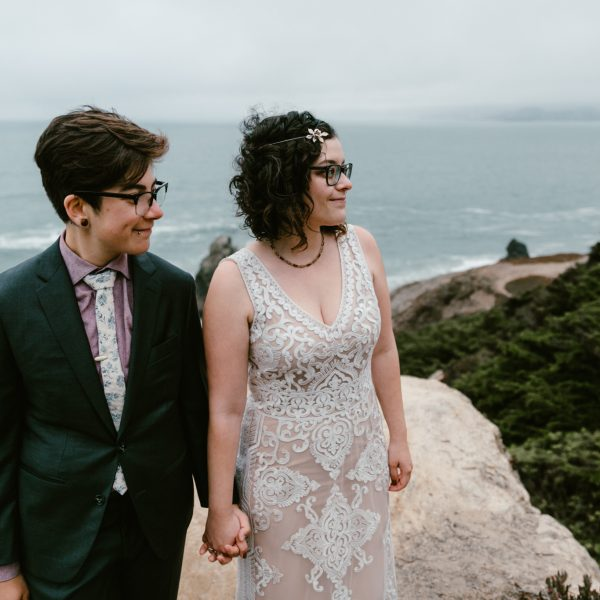 Art-deco picnic wedding in Golden Gate Park
