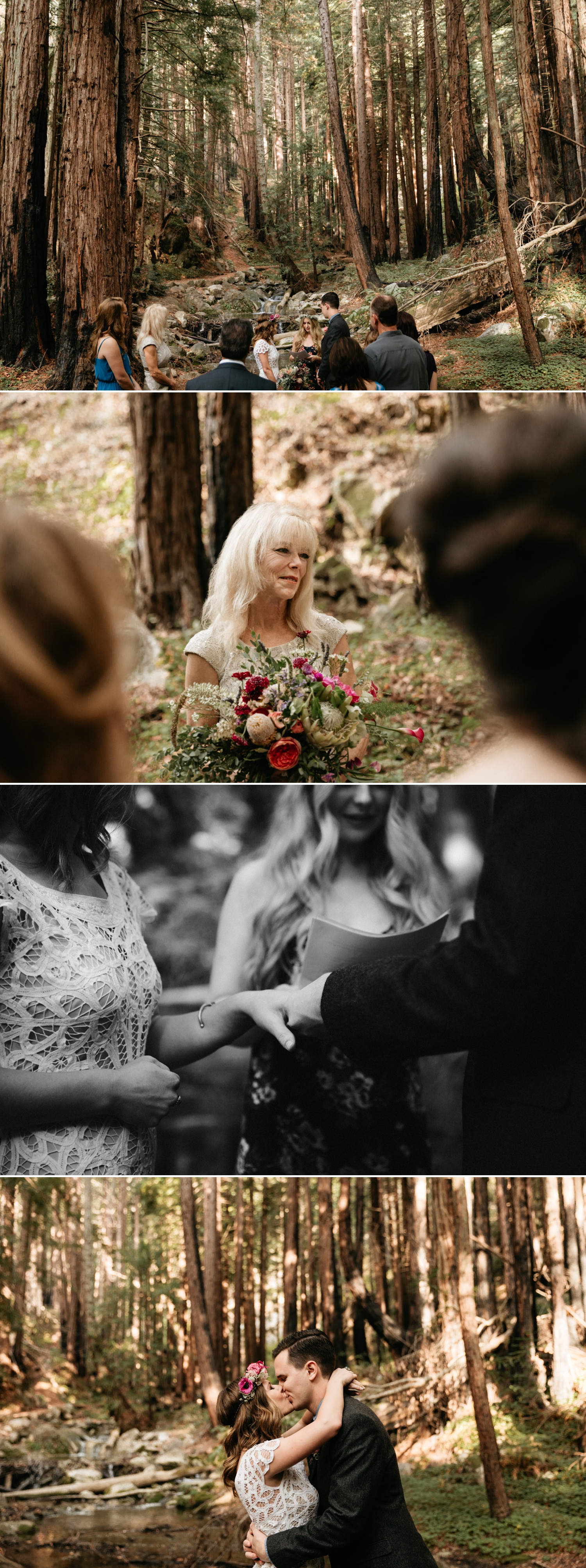 Kaitlyn and Matt Intimate Big Sur Wedding by Paige Nelson Photography