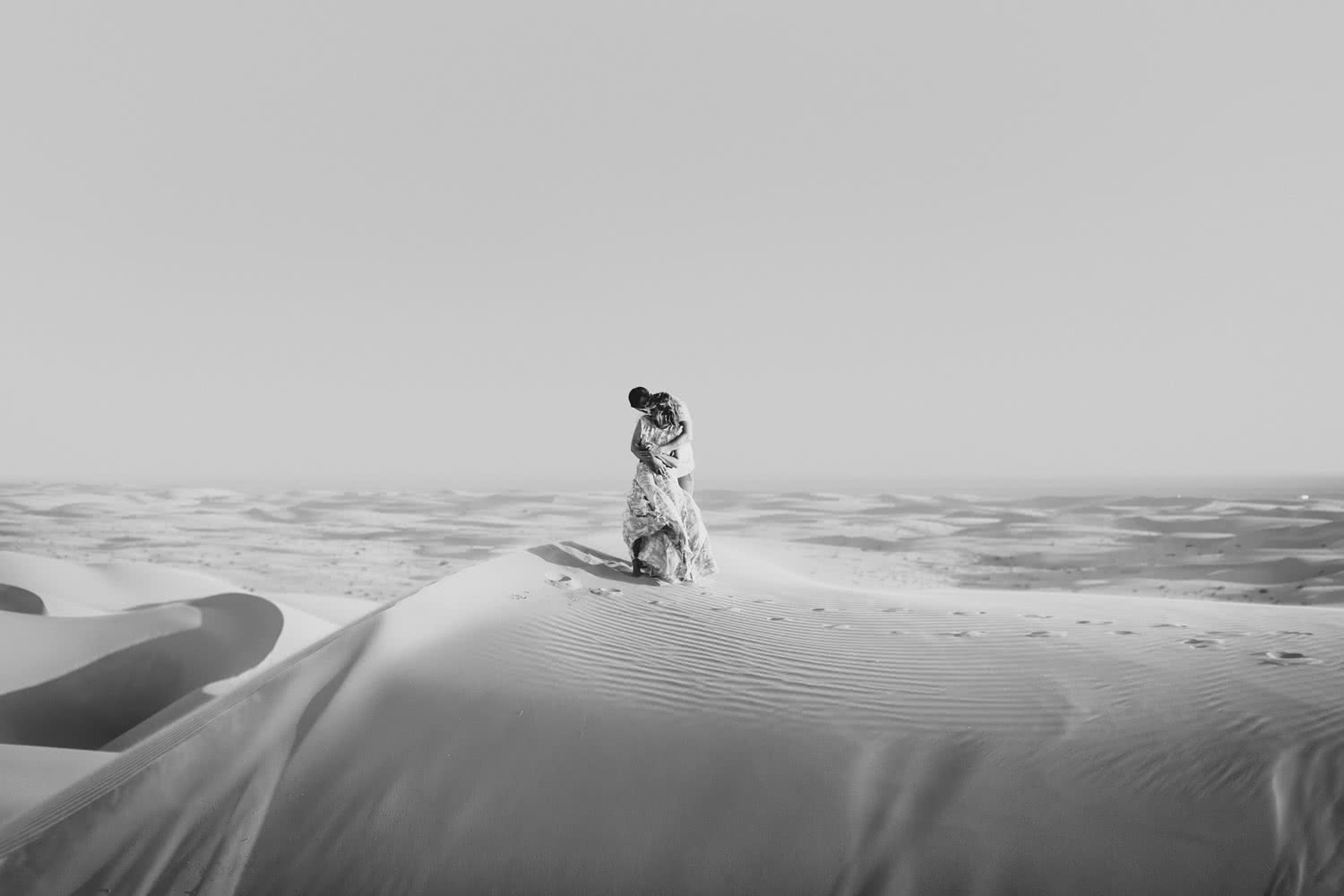 Sand Dunes engagement Glamis Paige Nelson