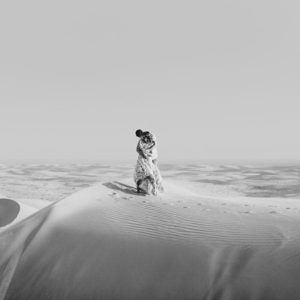 Abandoned Trains & Sand Dunes engagement