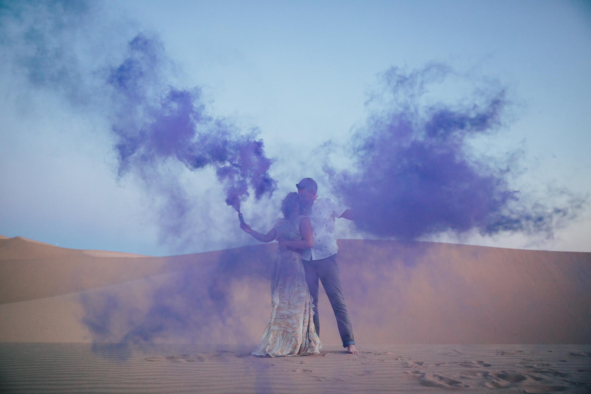 San dunes engagement by san diego photographer Paige Nelson