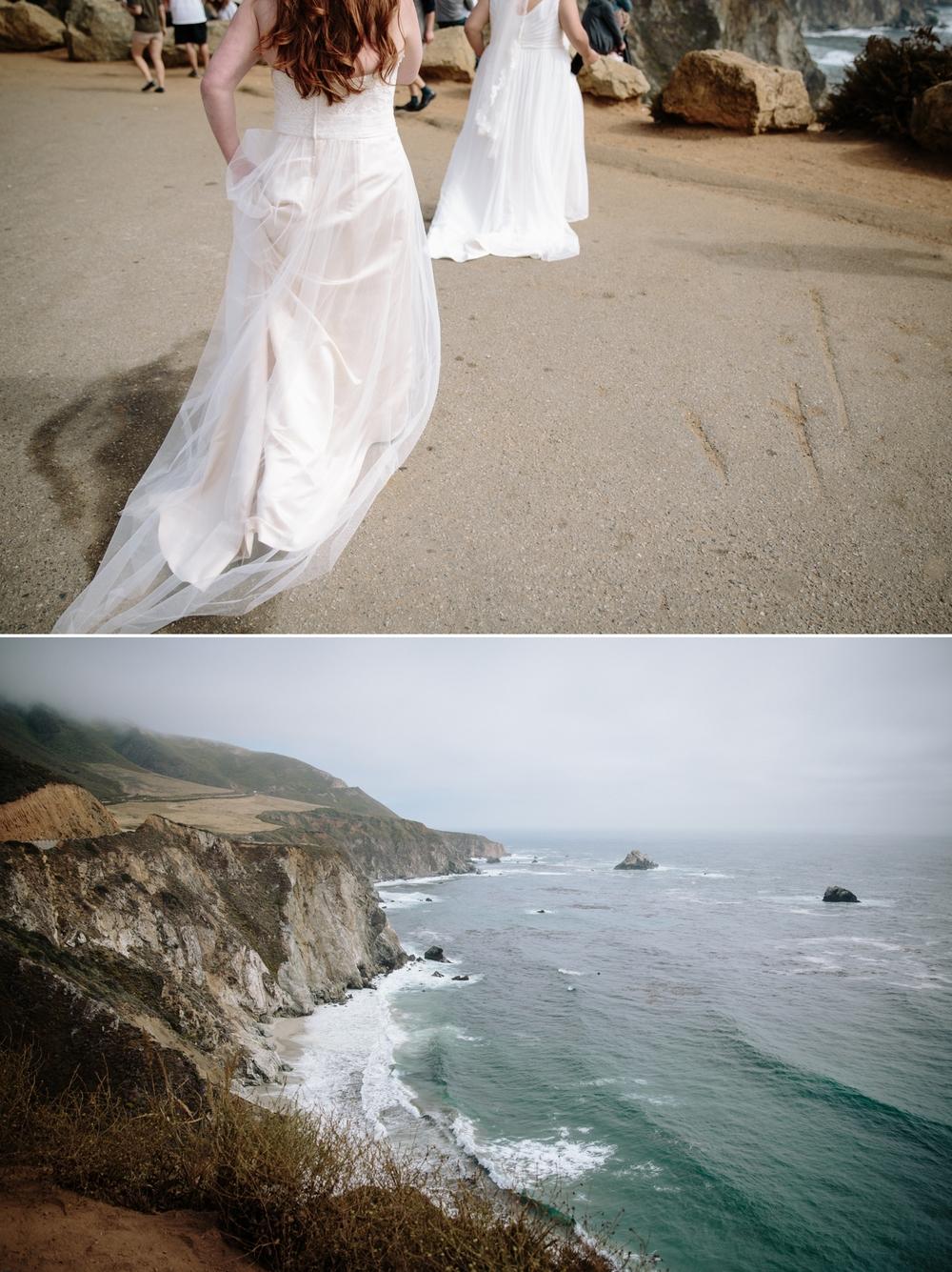 Lesbian elopement in Big Sur by San Diego photographer Paige Nelson