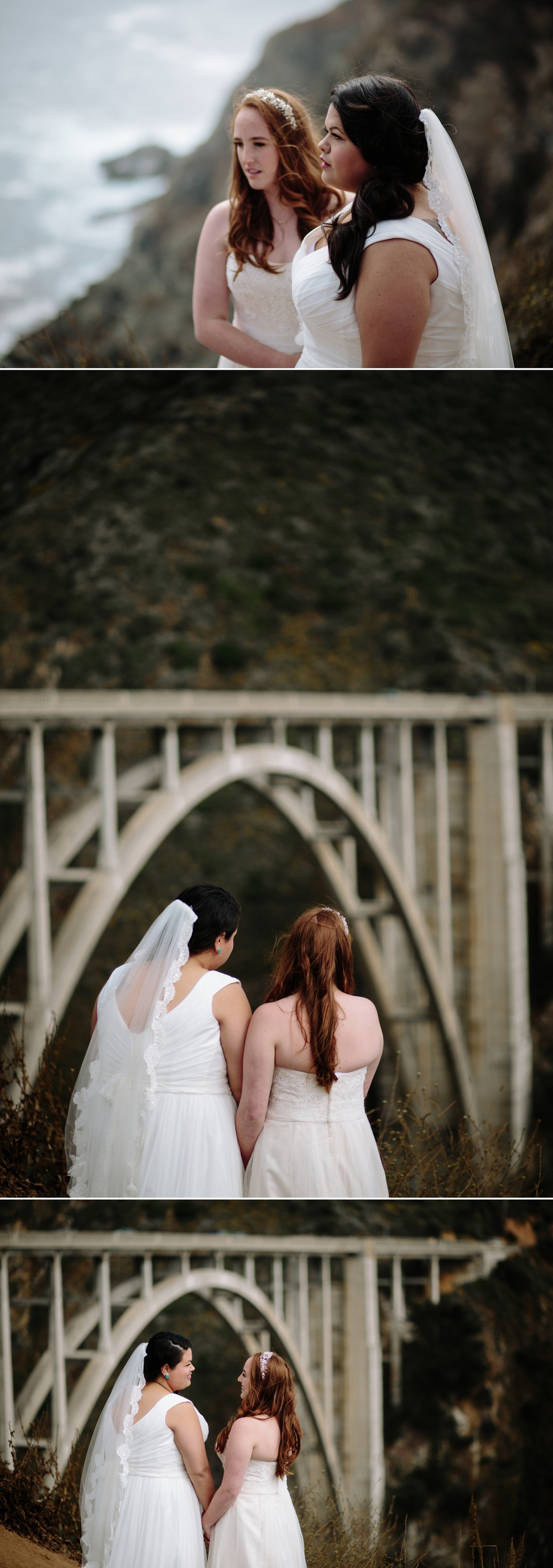Lesbian elopement in Big Sur by San Diego photographer Paige Nelson