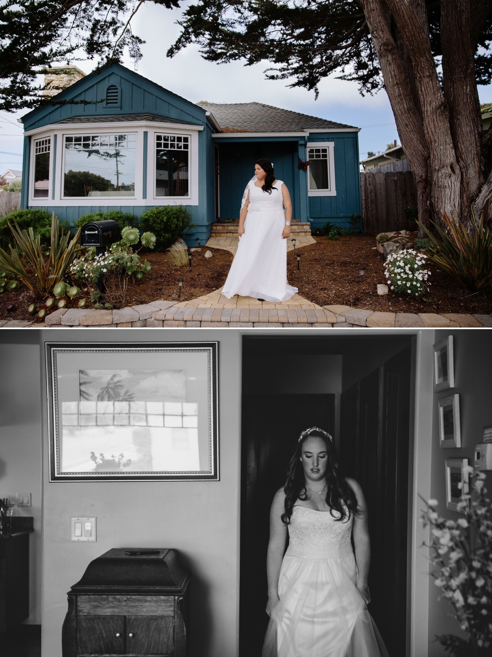 Summer elopement in Big Sur at Julia Pfeiffer Burns State Park by Paige Nelson