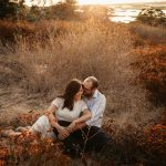 San Elijo lagoon engagement by Paige Nelson