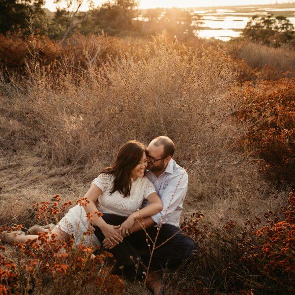 Engagement at San Elijo Lagoon