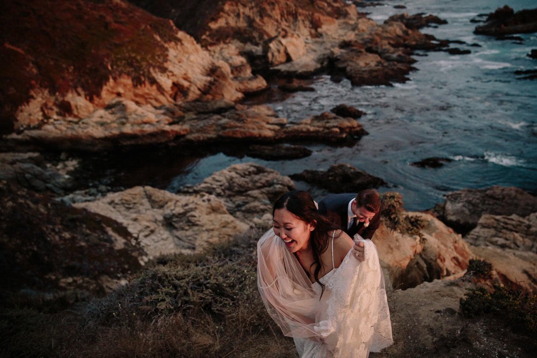 Garrapata State Park Wedding Paige Nelson