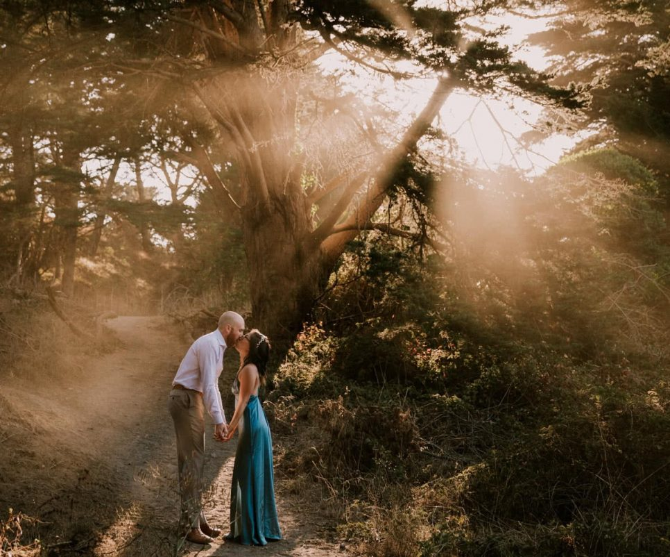 Sutro Baths Engagement San Francisco