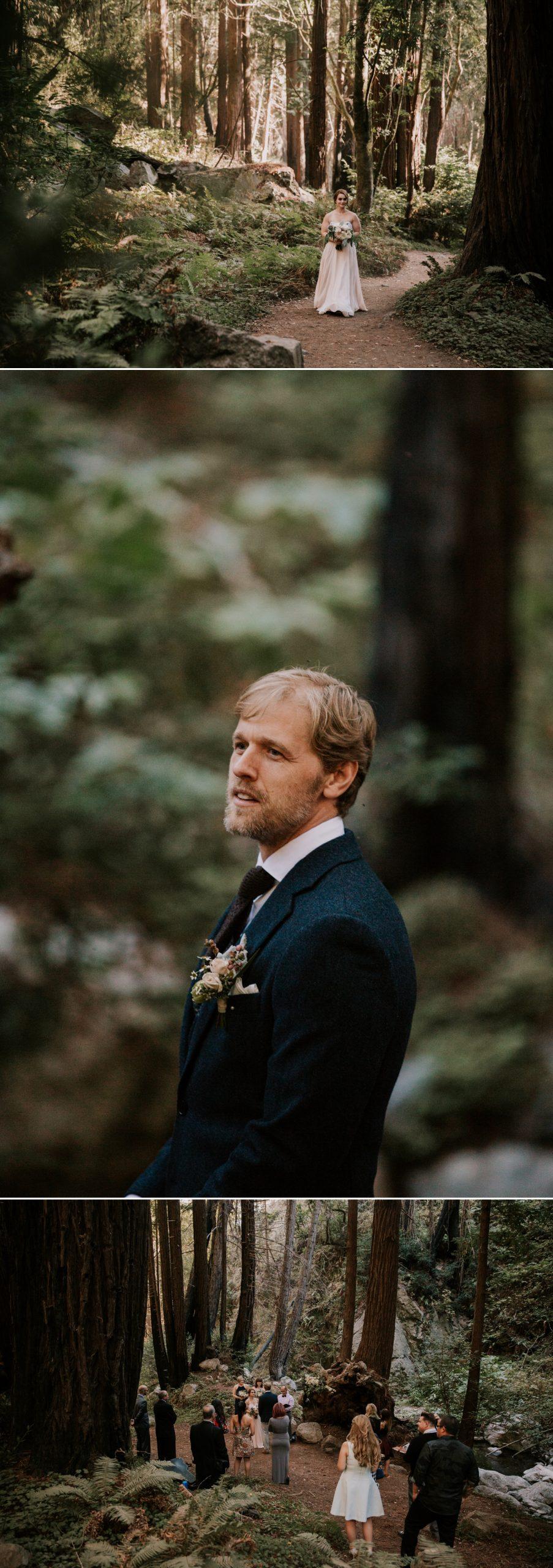 Limekiln elopement in Big Sur
