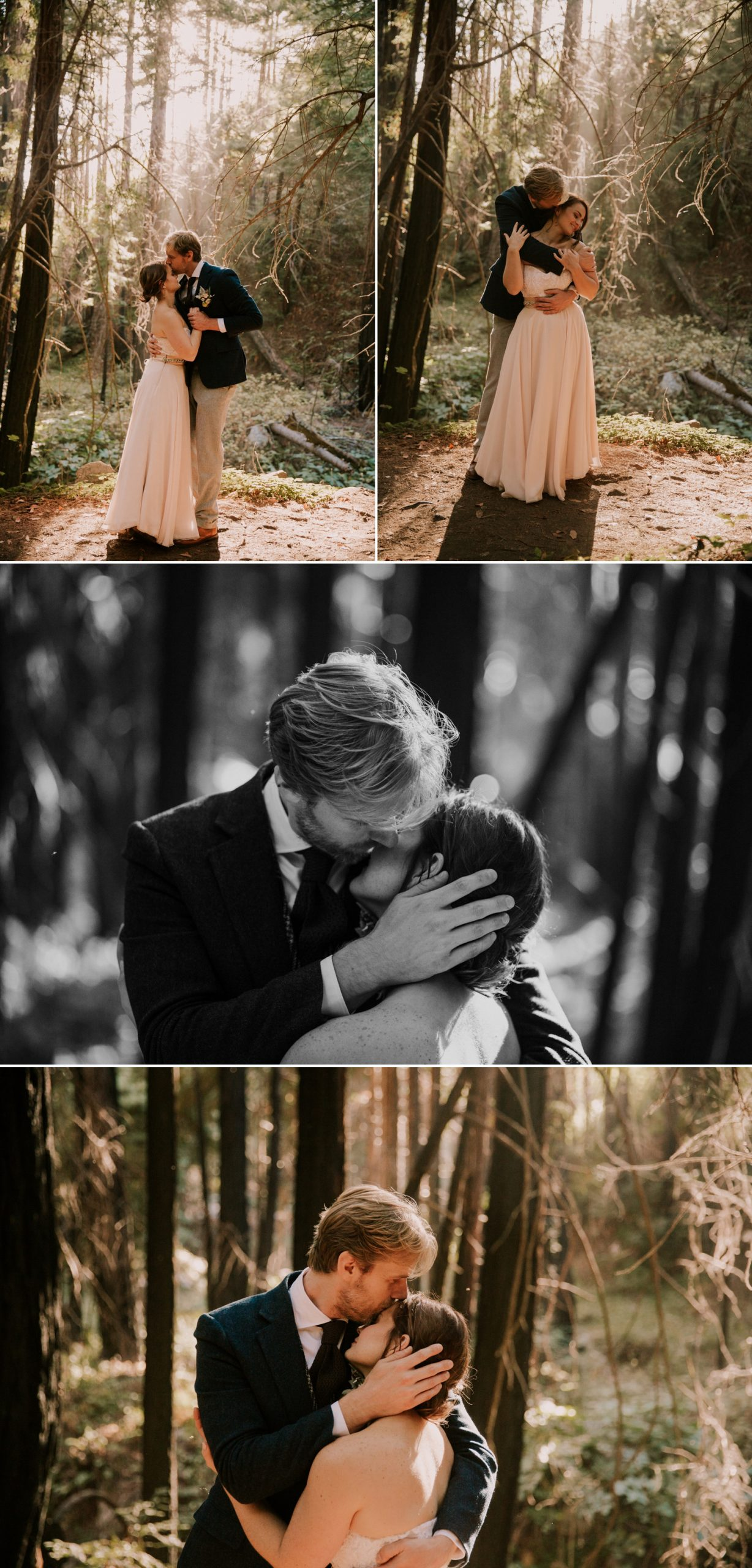 Limekiln State Park elopement in Big Sur