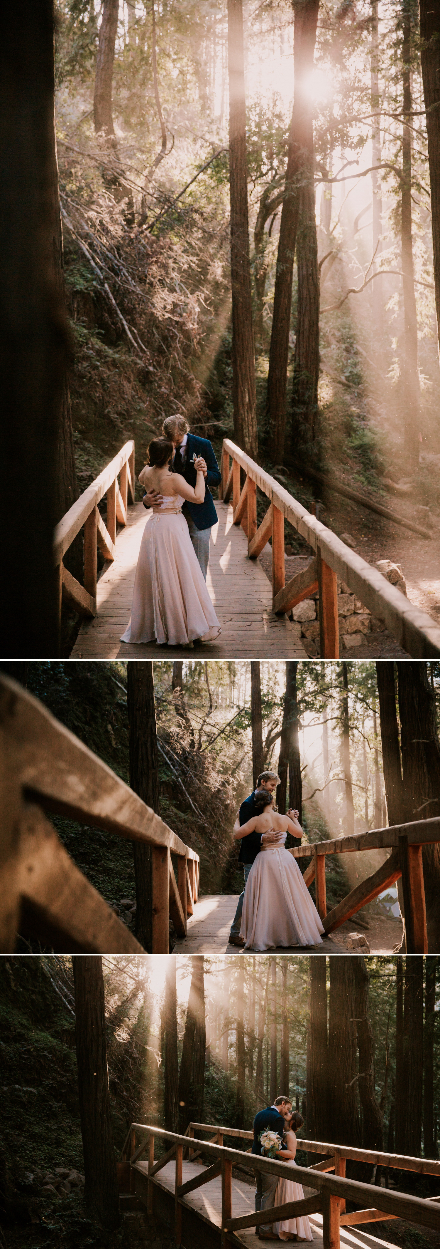 Forest wedding in Big Sur Paige Nelson