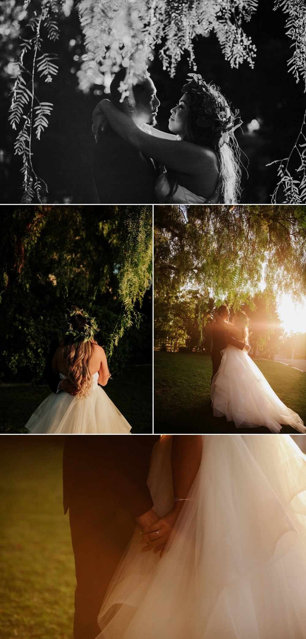 Chic garden wedding in San Diego by Paige Nelson Photography