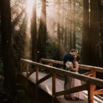 Intimate Big Sur wedding in Limekiln by Paige Nelson