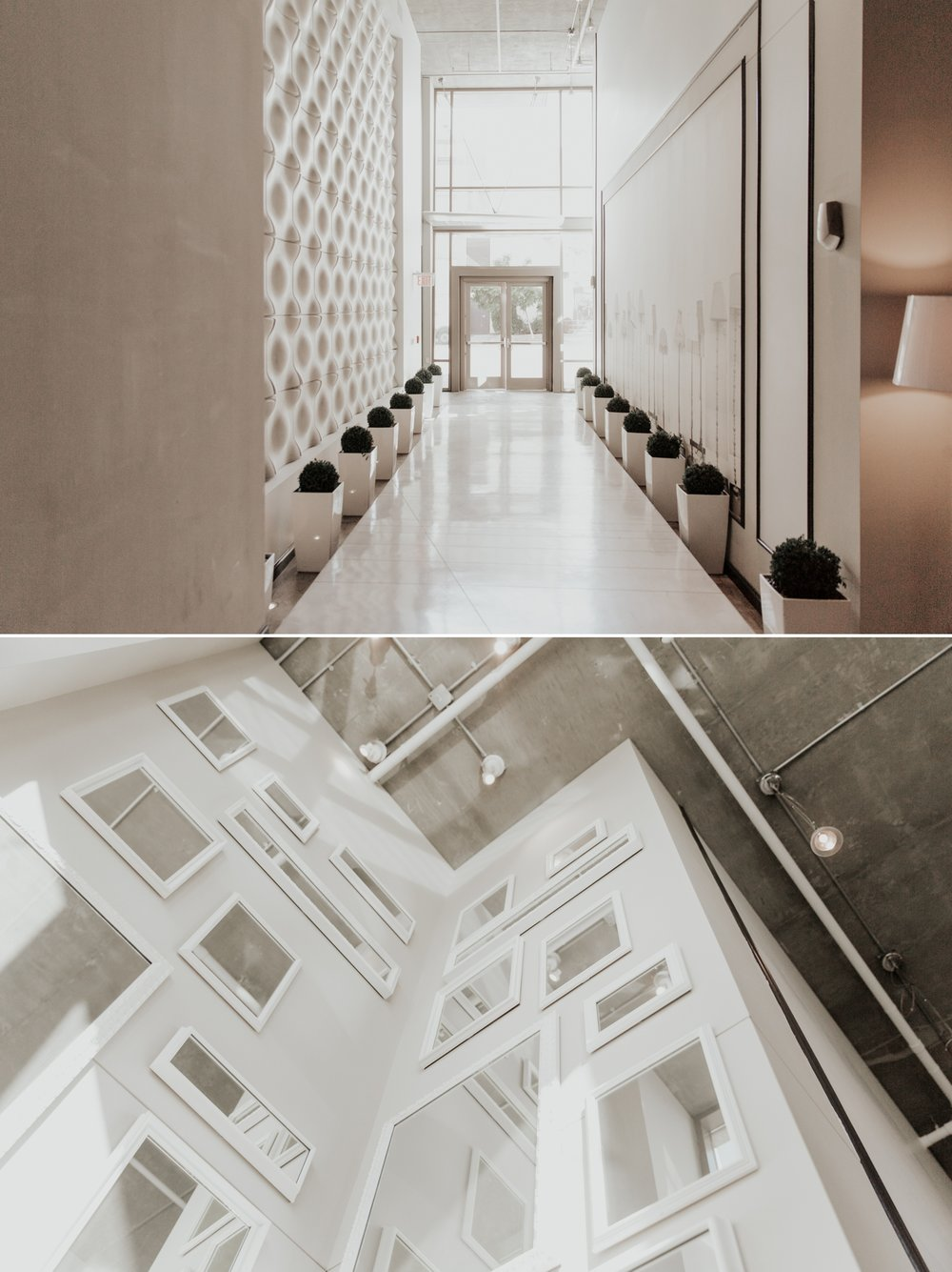 Modern wedding in downtown San Diego by Paige Nelson