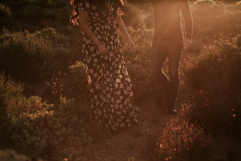 Mt Laguna overlook engagement by San Diego Photographer Paige Nelson