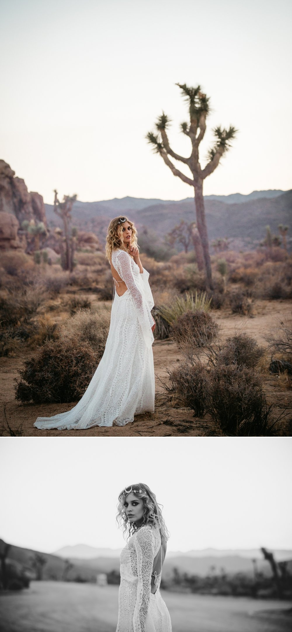 Rue de Seine Love Spell Collection Woodrose Gown, Joshua Tree