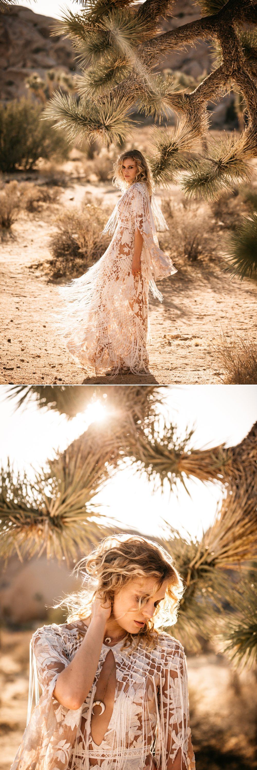 Rue de Seine Love Spell Collection Dakota Gown, Joshua Tree