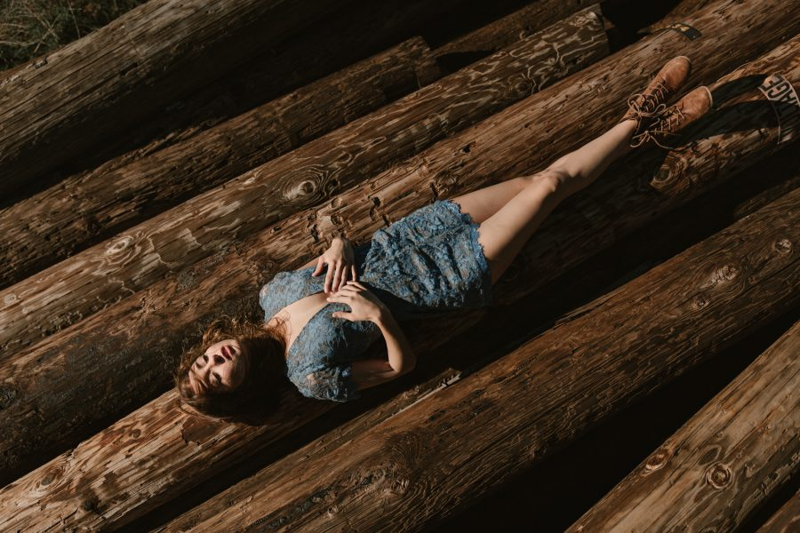 Lindsey Carlene at Iron Mountain by Paige Nelson