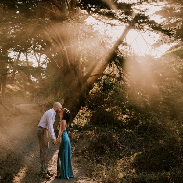 Sutro Baths Engagement in San Francisco