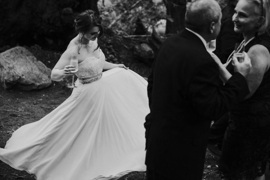 Intimate Big sur wedding in Limekiln State Park by Paige Nelson