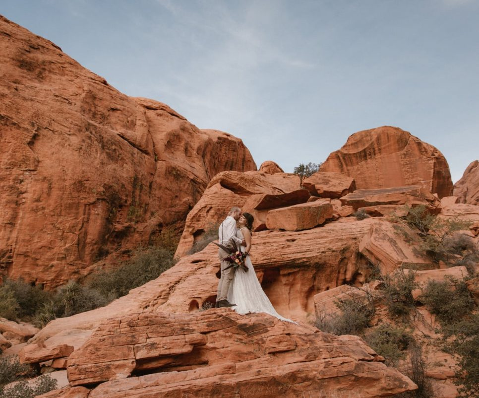 Red Rock Canyon Elopement Vegas