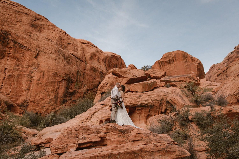 Red Rock Canyon Elopement Vegas