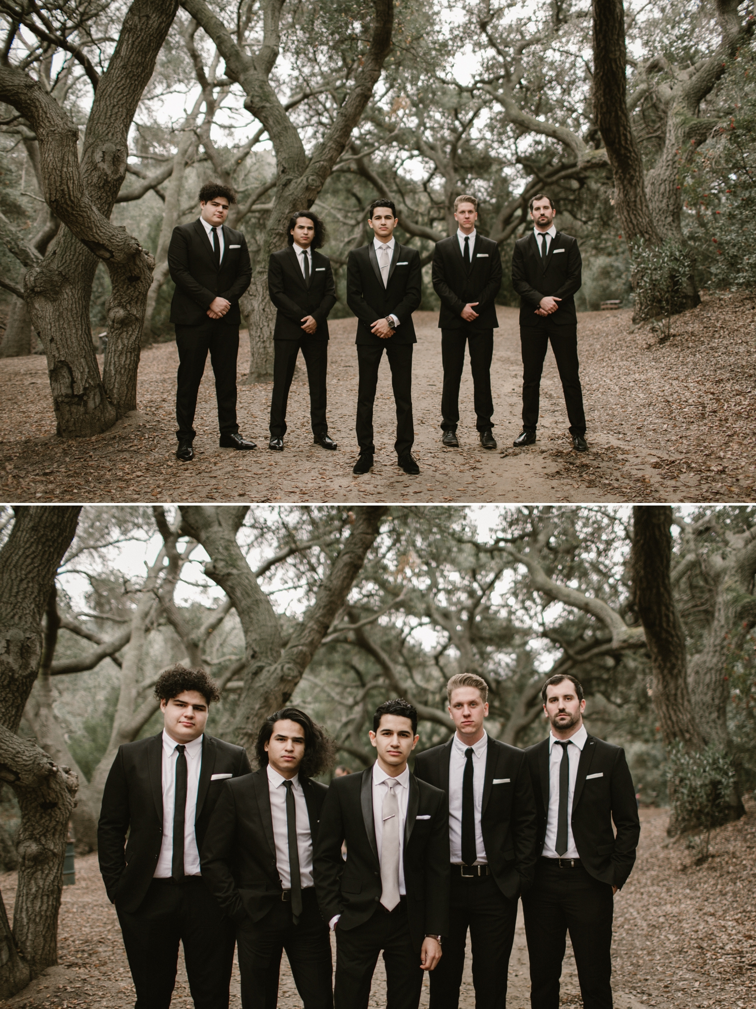 Groomsmen formals at Oak Canyon Nature Center by Paige Nelson