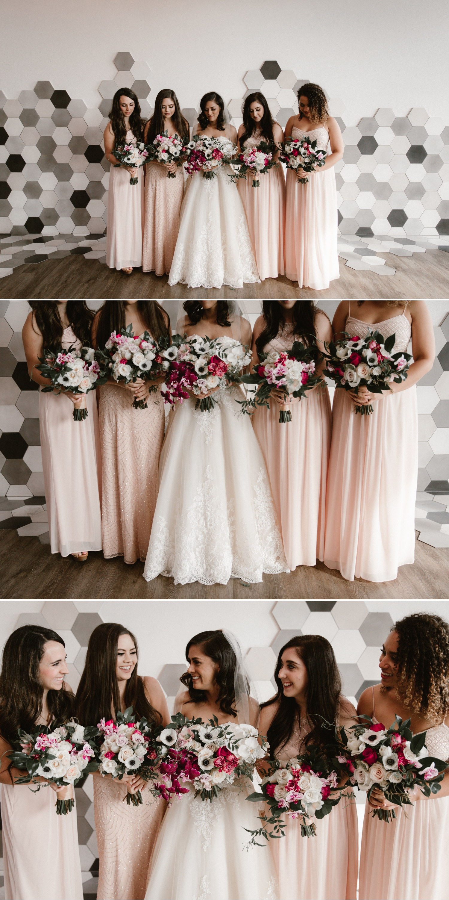 Bridesmaids at the 1912 wedding in Santa Ana by Paige Nelson