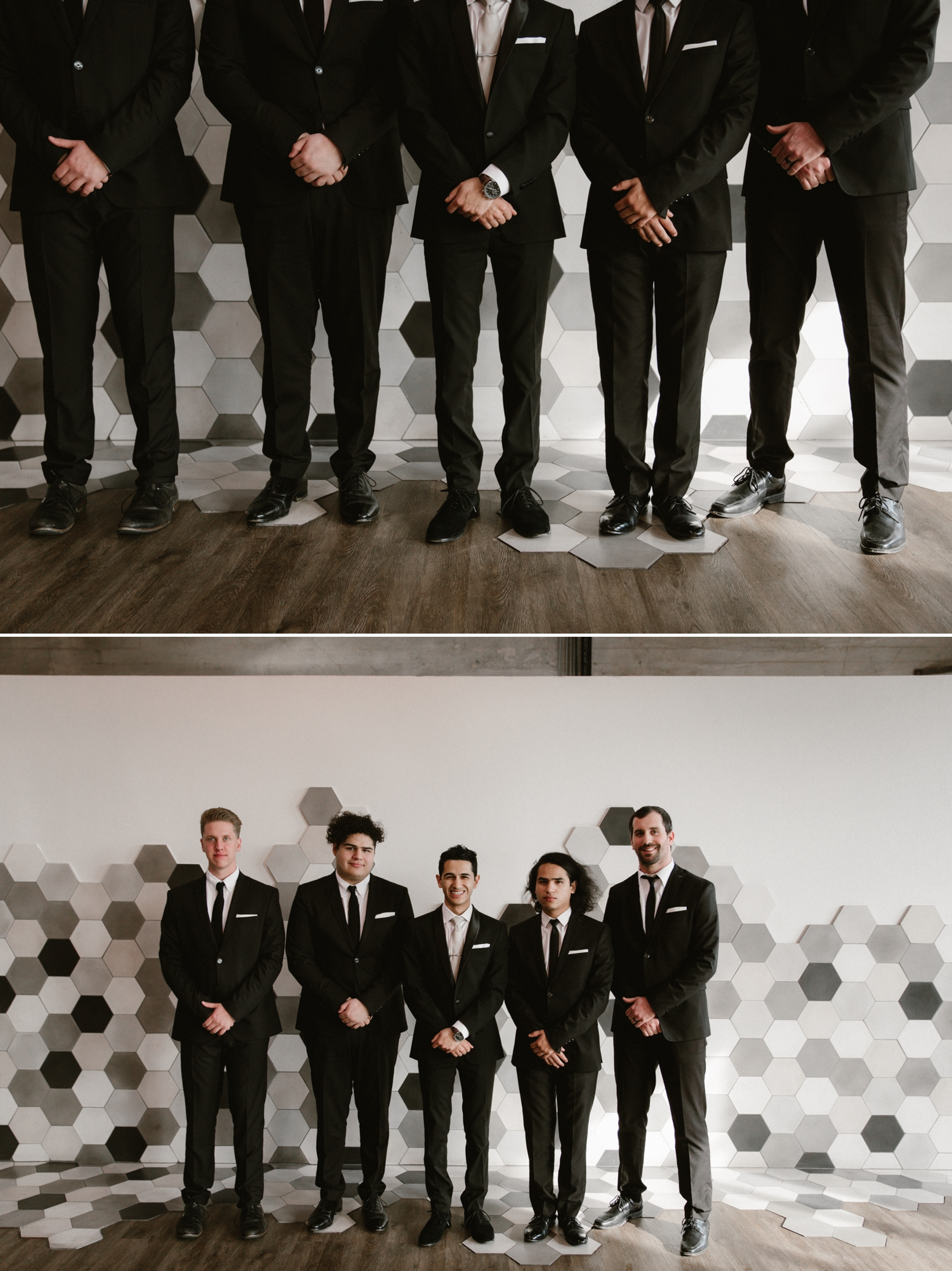 Groomsmen at the 1912 wedding in Santa Ana by Paige Nelson