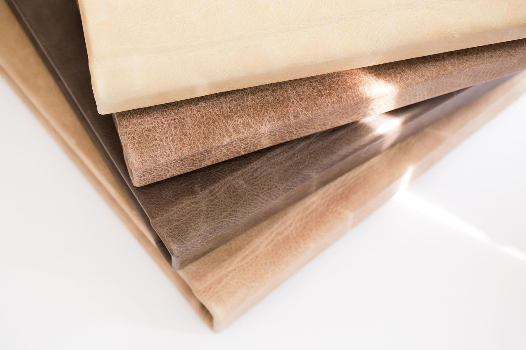 RedTree Albums leather