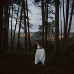 Intimate wedding in Forest of Nisene Marks