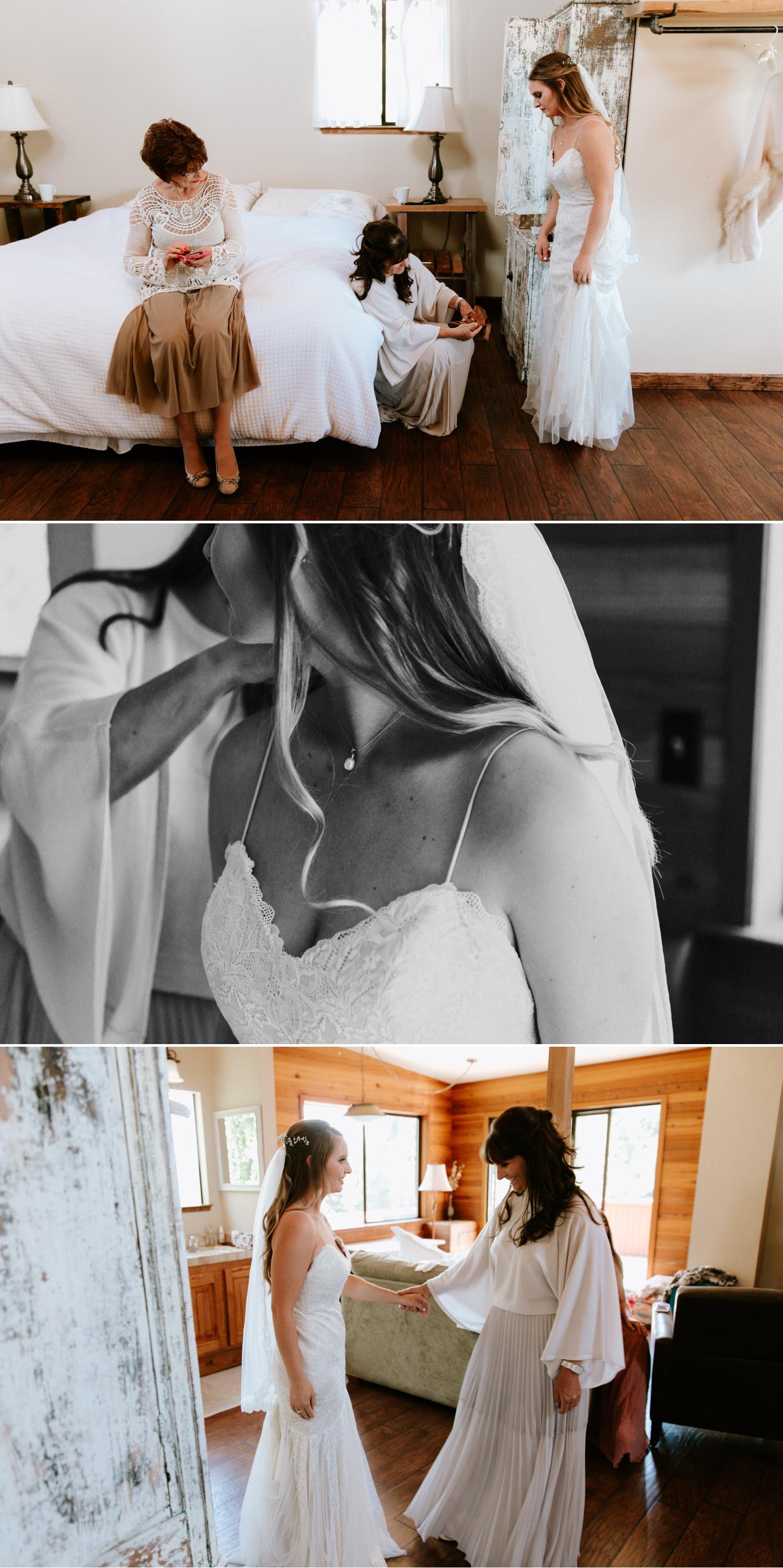 Intimate wedding in Santa Cruz by Paige Nelson