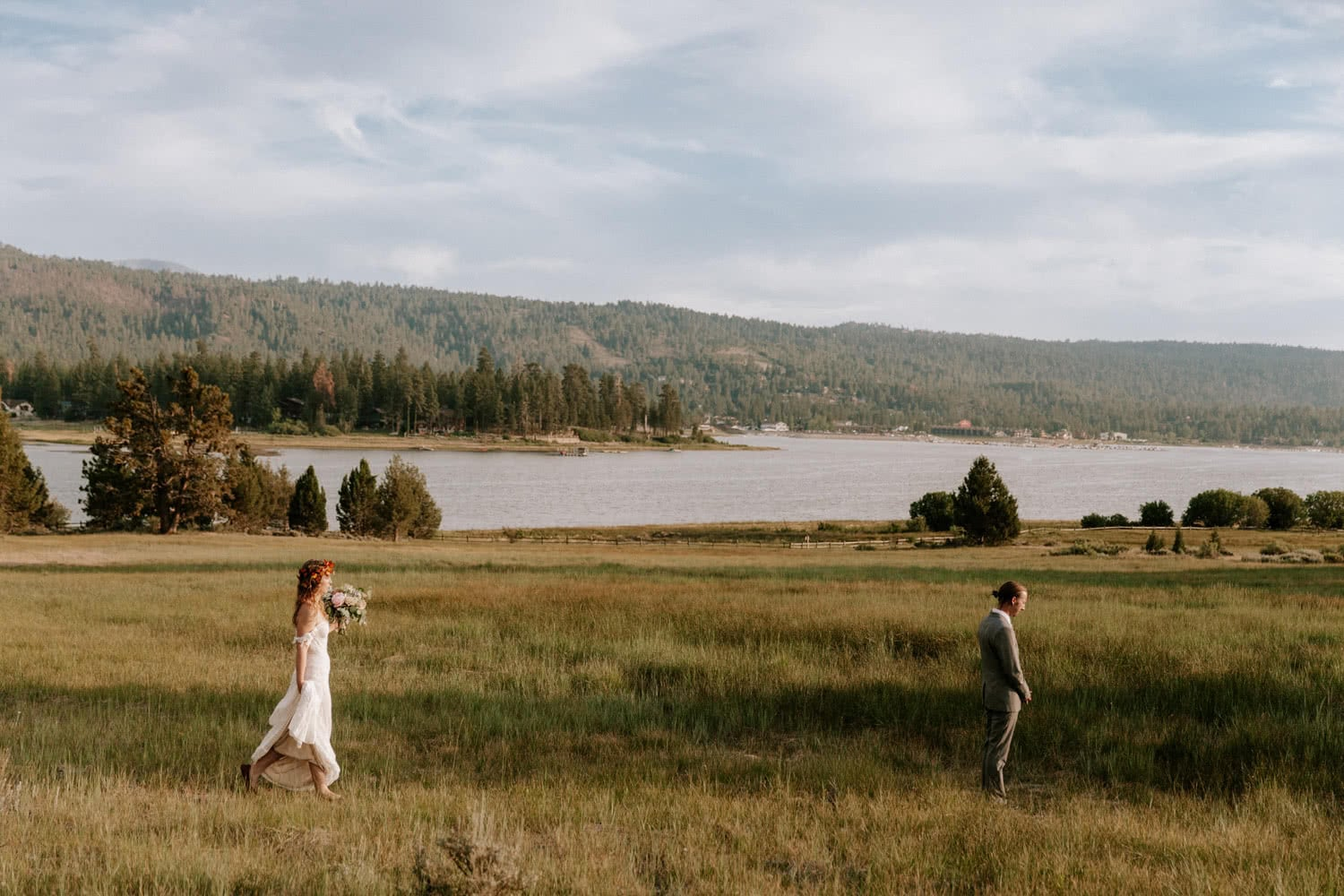Big Bear Elopement Paige Nelson
