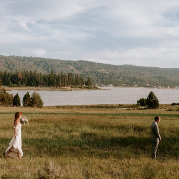 Intimate Lakeside Elopement in Big Bear