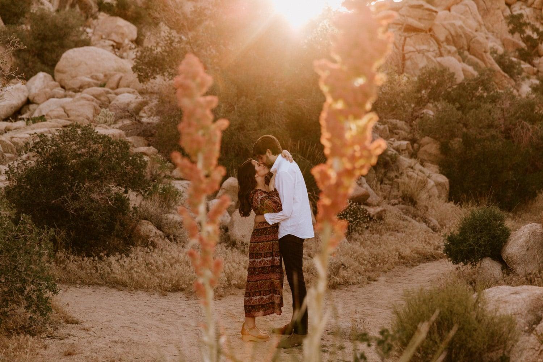 Joshua Tree engagement Paige Nelson