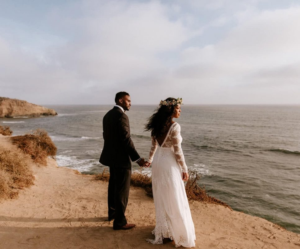 Sunset Cliffs wedding San Diego