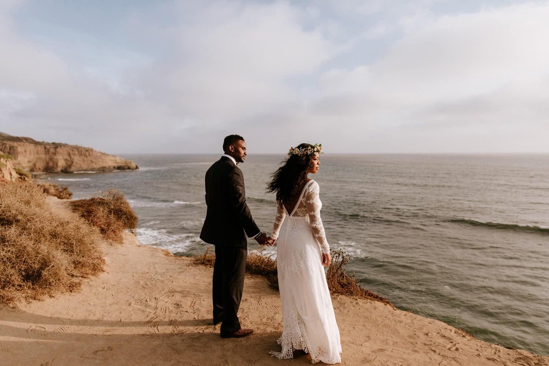 Sunset Cliffs wedding San Diego