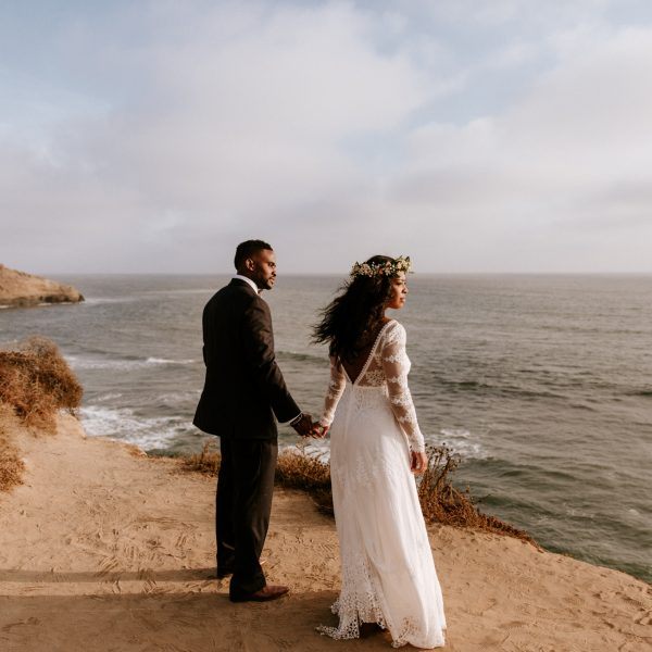 Bohemian Hawaiian-Inspired Point Loma Wedding