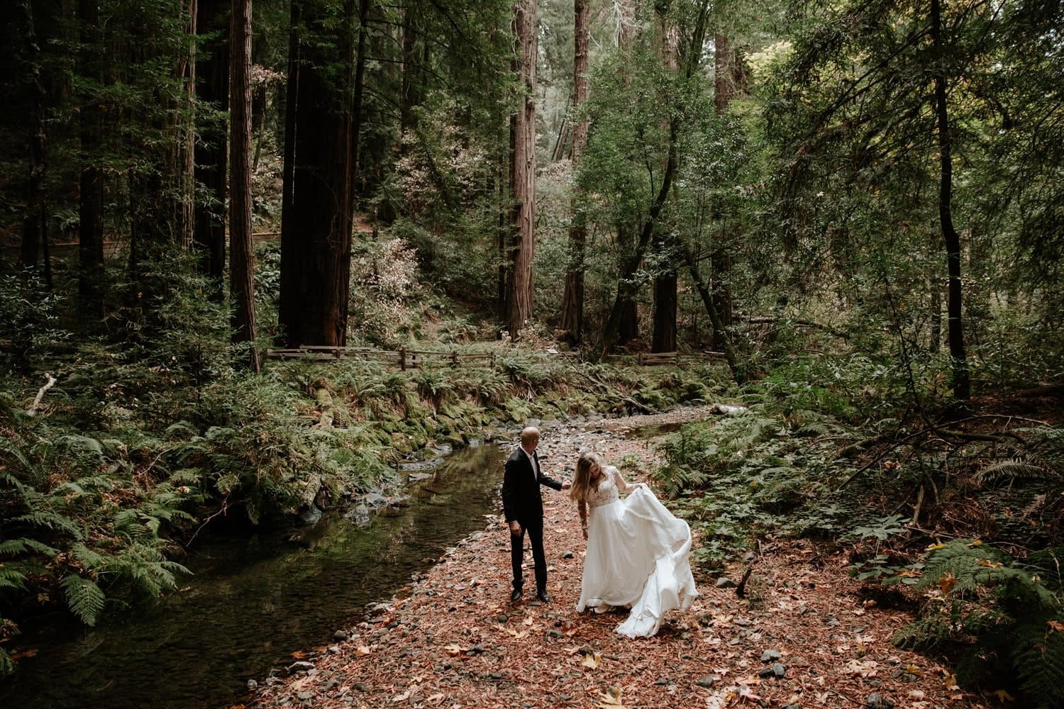 Muir Woods Wedding Paige Nelson