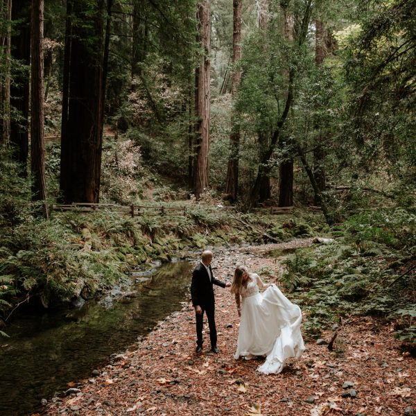 Intimate Wedding in the San Francisco Muir Woods