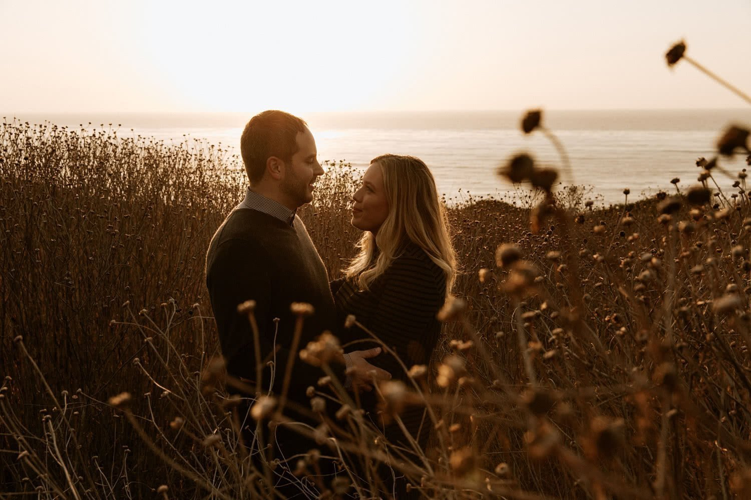 Sunset Cliffs engagement San Diego