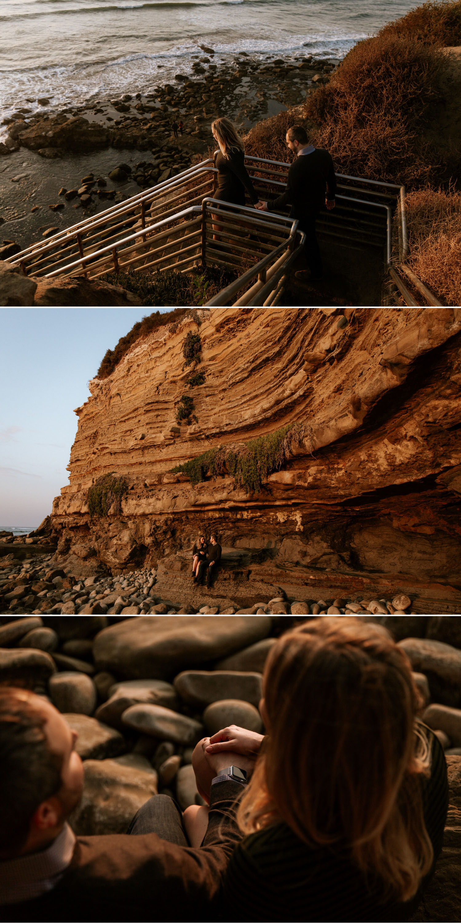 San Diego photographer Paige Nelson, Sunset Cliffs engagement