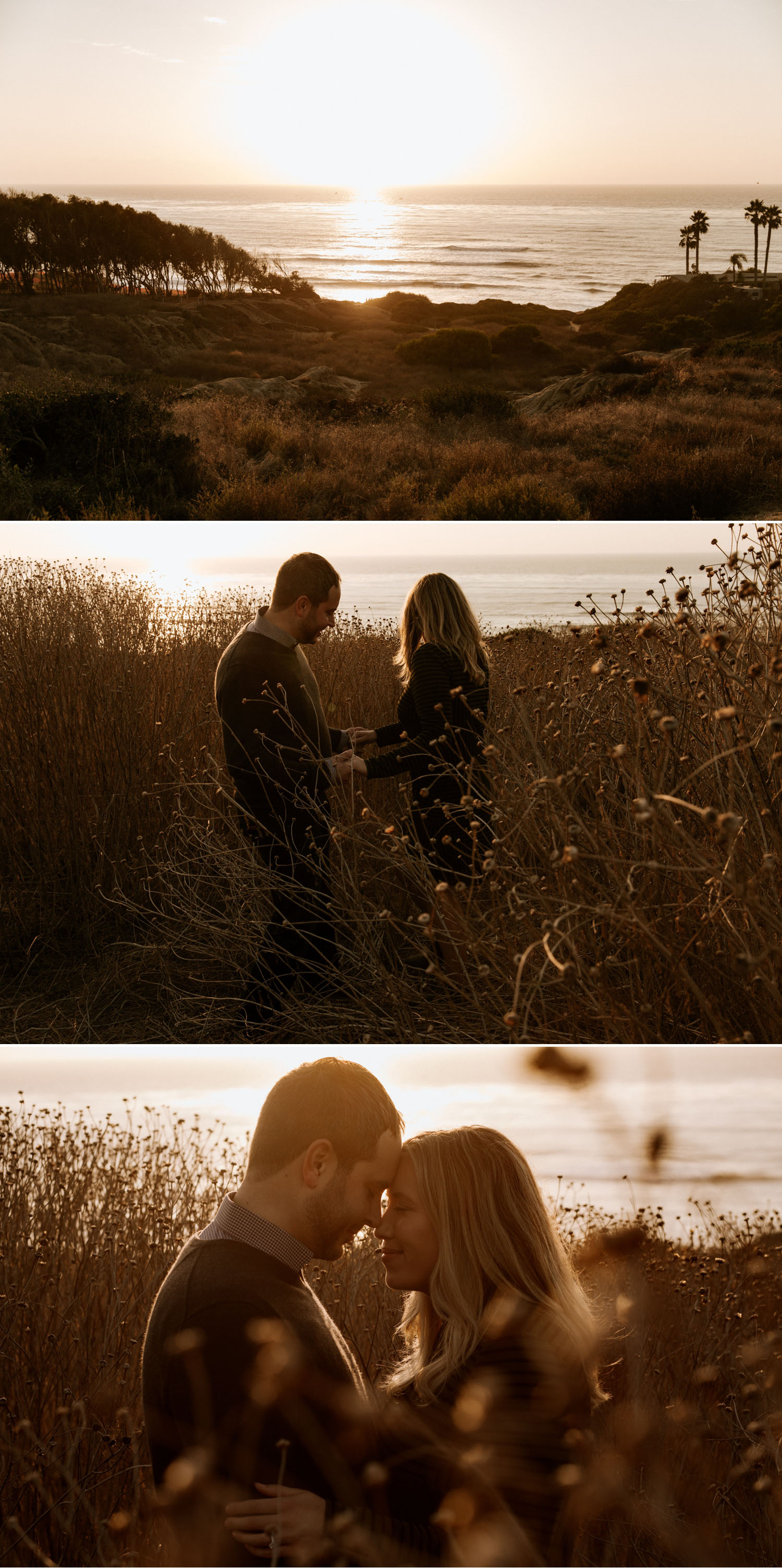 San Diego engagement session at Sunset Cliffs by Paige Nelson