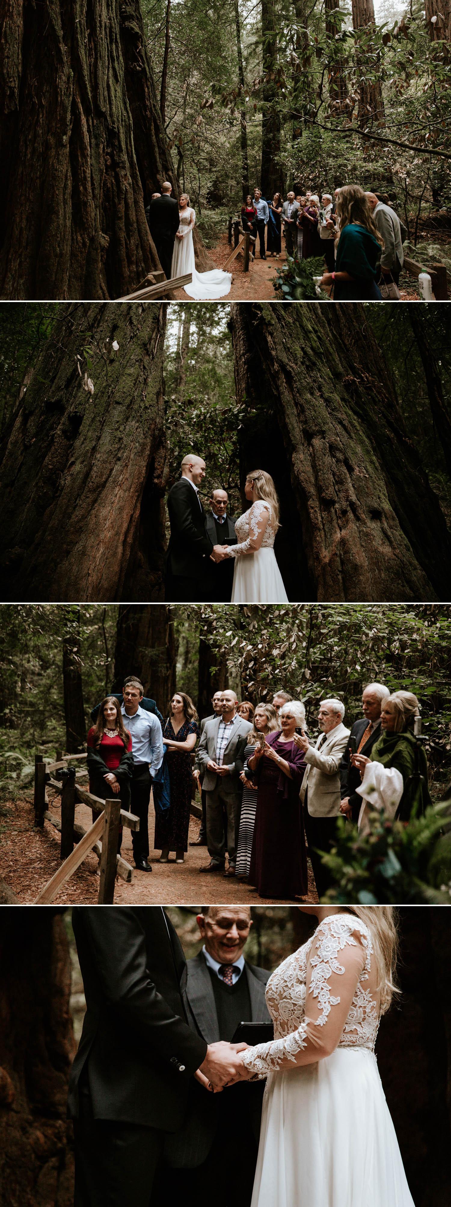 Intimate Muir Woods Wedding in San Francisco by Paige Nelson