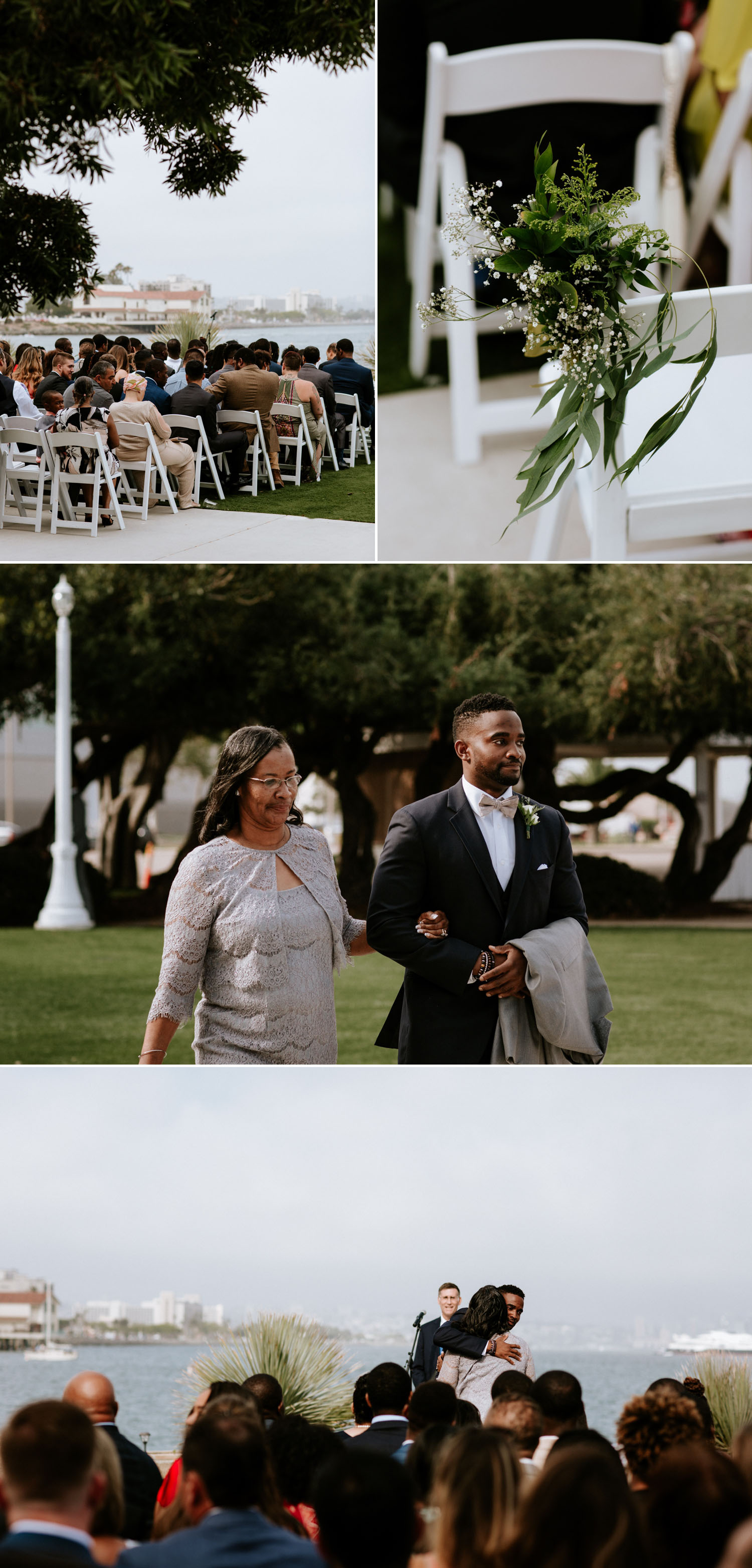 San Diego harbor wedding by Paige Nelson