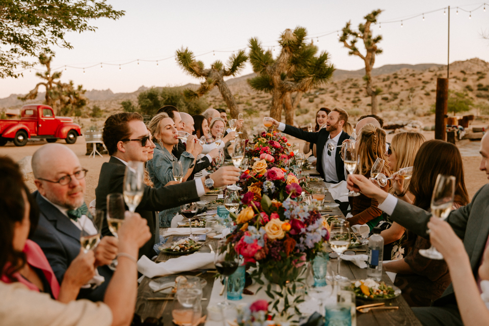 Rimrock Ranch Intimate Wedding in Pioneertown by Paige Nelson Photography