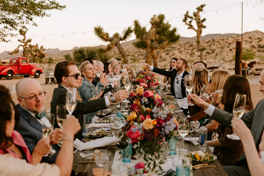 Rimrock Ranch wedding in Pioneertown Paige Nelson